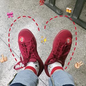 Puma彪马SESAME 芝麻街50周年联名款大童运动板鞋