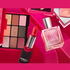 Kiko美国官网2020年情人节限定彩妆 任意2件75折促销