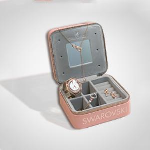 Swarovski中国官网现购满1999元赠粉色浪漫首饰盒一个
