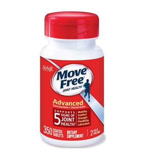 Move Free 维骨力氨基葡萄糖氨糖软骨素 红瓶 350粒