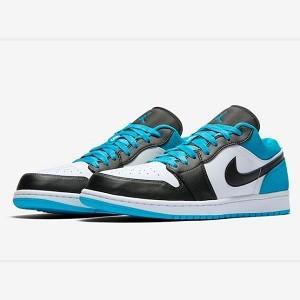 """低帮黑脚趾!Air Jordan 1 Low """"Laser Blue""""近期上市!"""