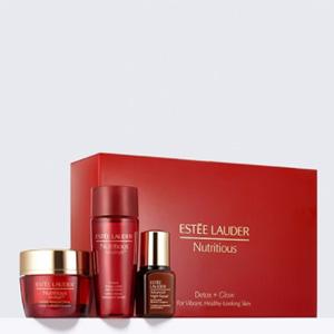 Estée Lauder Detox + Glow畅销红石榴套装