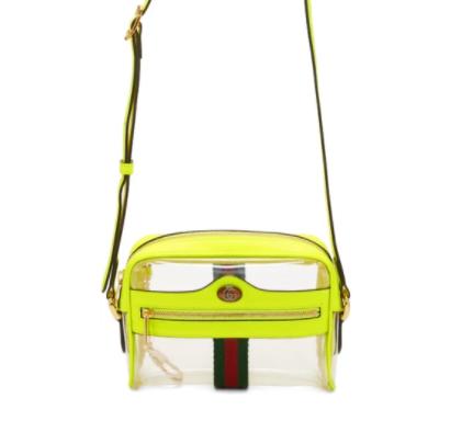 Gucci Transparent & Yellow斜挎包