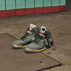 终于来了!OFF-WHITE x Air Jordan 5 下周五上市!