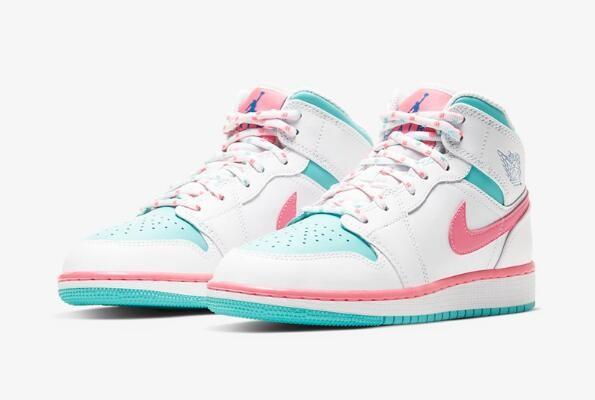春之序曲!全新 Air Jordan 1 Mid 甜蜜上市!