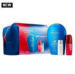 补货!Shiseido资生堂SPF x Active Play Set蓝胖子套装(价值$82)