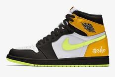 清爽黑脚趾!全新配色的Air Jordan 1明年上市!
