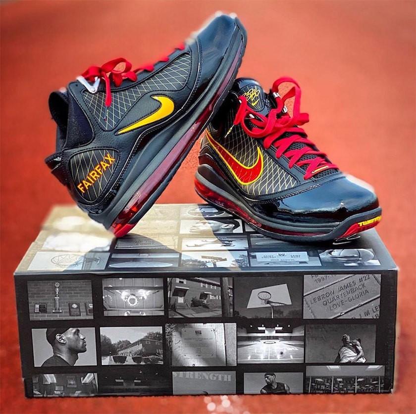 """经典耐看!Nike LeBron 7 """"Fairfax"""" 下月上市!"""