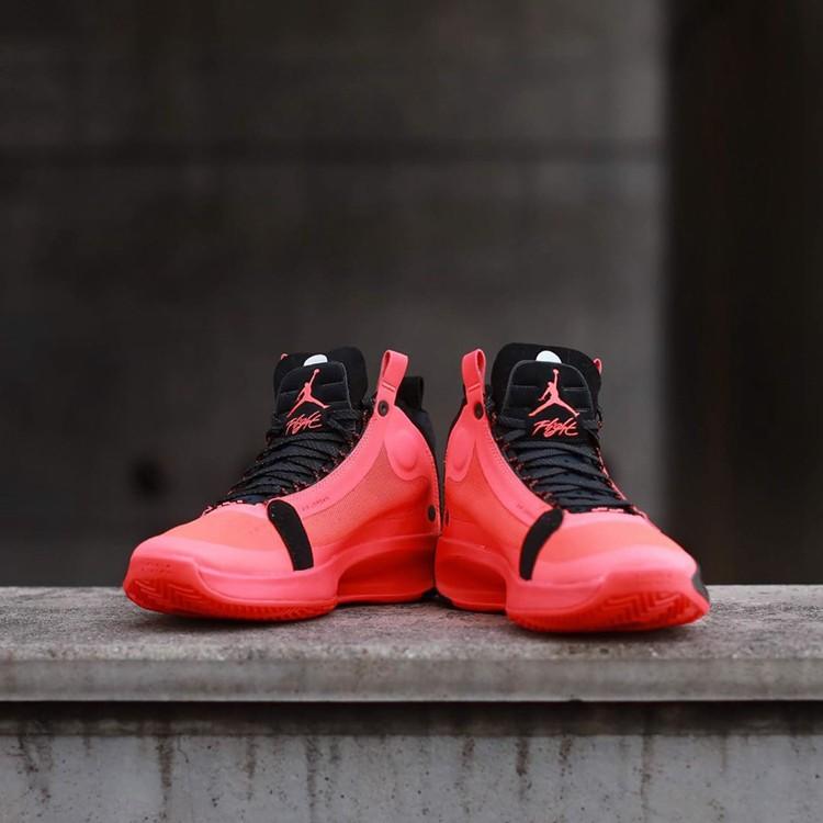 "公牛基因!Air Jordan 34""Infrared 23""配色3月发售!"