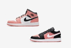 小姐姐们的新春装!两款樱花粉 Air Jordan 1 即将发售!
