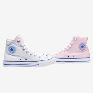 Converse Chuck Taylor All Star拼色鸳鸯大童款帆布鞋
