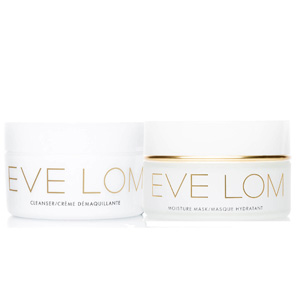 EVE LOM补水修护套装(含100ml卸妆膏+100mL面膜)