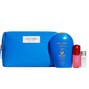 Shiseido资生堂SPF x Active Play Set蓝胖子套装(价值$82)