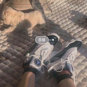Jordan乔丹6 Rings大童款黑白奥利奥色篮球鞋