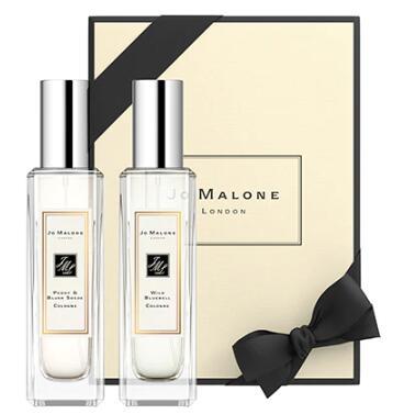 Jo Malone祖马龙蓝风铃和牡丹30ml+胭红麂绒香水30ml