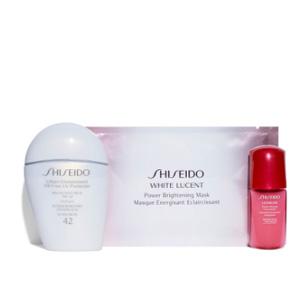 补货!Shiseido 白胖子防晒3件套装