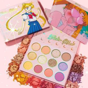 ColourPop X Sailor Moon 水冰月合作款眼影盘