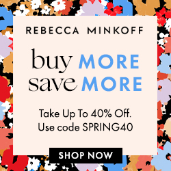 Rebecca Minkoff官网全场包袋最高满$350享6折促销
