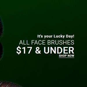 Sigma Beauty官网St. Patrick's Day圣帕特里克节精选化妆刷$17封顶促销