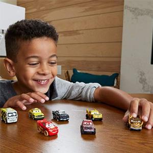 Cars Toys Disney Pixar皮克斯动画 赛车总动员 迷你合金汽车车模10件装