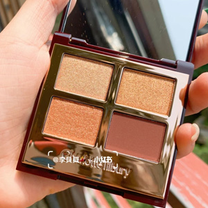 Charlotte Tilbury限量新款四色眼影盘The Queen of Glow
