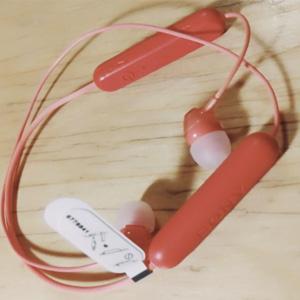 Sony索尼 WI-C300 无线蓝牙入耳颈挂式运动耳机 蓝色