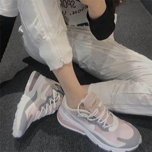 小红书热门款!Nike Air Max 270 烟粉色运动鞋
