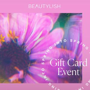 Beautylish春季礼卡活动开启
