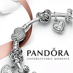 PANDORA Jewelry美国站现有精选商品买二送一促销