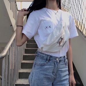 【售空】Adidas三叶草 FIORUCCI 联名小天使图案运动包