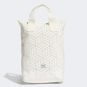 Adidas阿迪达斯 3D三宅一生双肩包 白色