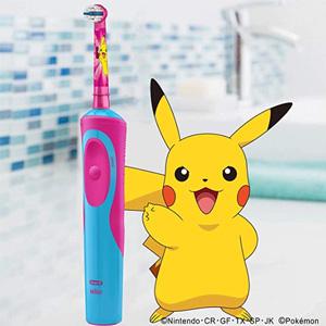 Oral-B D12513KPKMG儿童电动牙刷 精灵宝可梦款