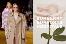 Burberry风衣工厂将生产防护服、口罩以对抗疫情