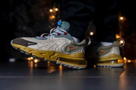 跳票敬告!Travis Scott x Nike Air Max 270 React 五月登场!