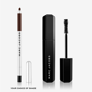 Marc Jacobs Beauty睫毛膏+眼线笔套组