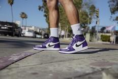 近期自穿好鞋!白紫脚趾 Air Jordan 1 本周六发售!