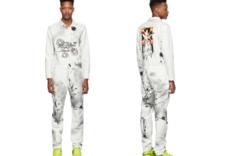 SSENSE 上新 Off-White™× Futura 喷绘连体裤