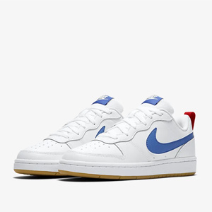 Nike Court Borough Low 2红白蓝大童款板鞋
