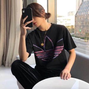 Adidas Watercolor缀水彩感图案男款T恤
