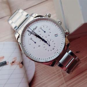 Calvin Klein Steadfast 系列 银色男士时装腕表 K8S27146