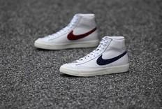 红蓝多CP!全新 Nike Blazer Mid 即将发售!