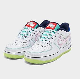 Nike耐克 Air Force 1 空军1号大童款运动鞋 Outside the Lines