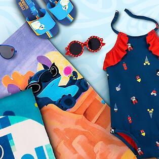 shopDisney网站精选泳装、玩具等专场满$50享7.5折
