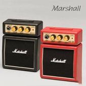 Marshall马歇尔 迷你Stack系列 MS-2R 微型电吉他音箱 红色
