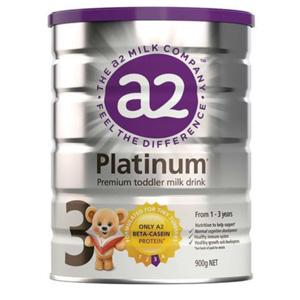 A2 白金系列婴幼儿配方奶粉3段 900g