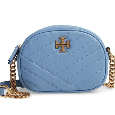 补货!Tory Burch PERRY KIRA CHEVRON小号相机包
