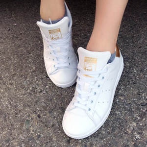 Adidas 阿迪达斯Stan Smith 金尾女款