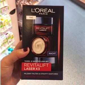 小降!L'Oréal Paris欧莱雅 Revitalift Laserx3 复颜光学紧致嫩肤去皱套装