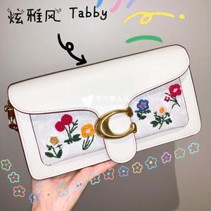 Coach蔻驰2020春夏新款 刺绣Tabby C 包包