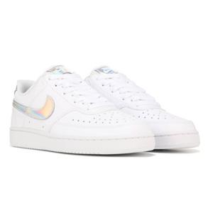 小码有货!Nike Court Vision 低帮休闲运动鞋镭射款